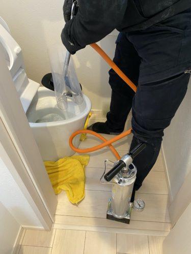 自宅のトイレ詰まり 年末の水回り対応 @名古屋