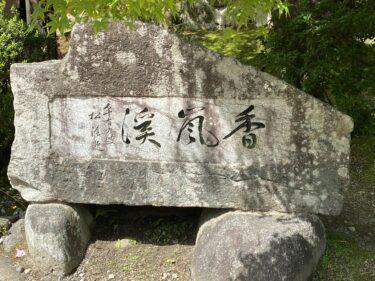 【子連れ名古屋周辺お出かけ】香嵐渓での森林浴/散歩と手作り弁当 @足助