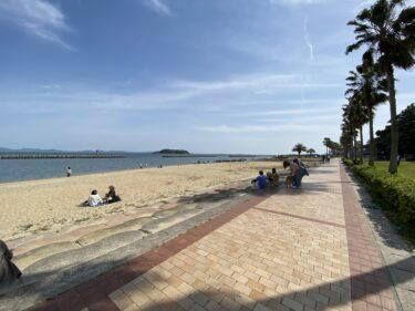 【子連れ名古屋周辺お出かけ】吉良ワイキキビーチと一色さかな広場
